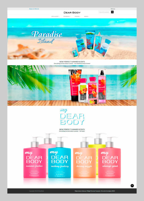 Dearbody - Homepage